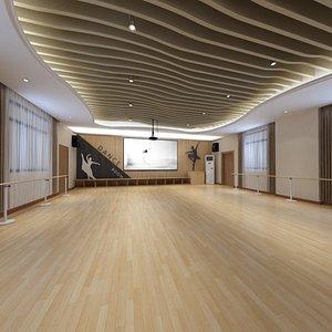 3D Dance Room Concepts
