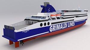 3D cruise ausonia - grimaldi