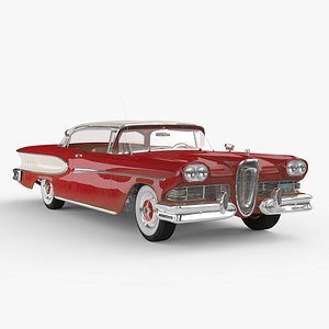 3D model edsel corsair 1958 pbr