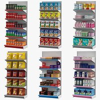 Supermarket Shelves Collection