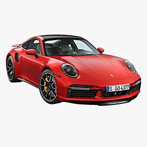 2021 Porsche 911 Turbo S 3D