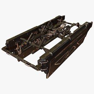 Cargo Module A 3D model