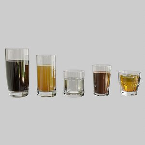 Glass Collection 3D model