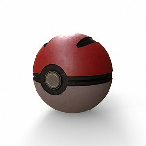pokeball poke 3D