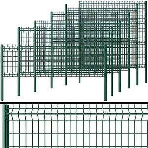 metal wicket fence 3D