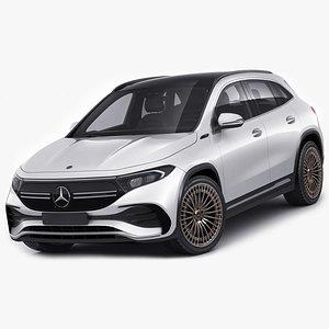 Mercedes EQA 2021 3D