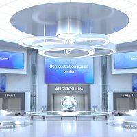 Sci-FI Futuristic Virtual Lobby