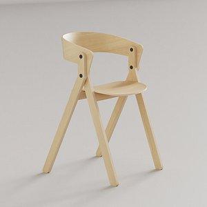 essenza chair bedont 3D model