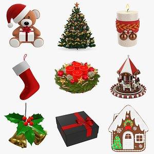 christmas decoration gift model