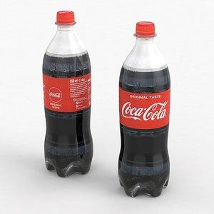 Beverage Bottle Coca-Cola 850ml 2021 3D model