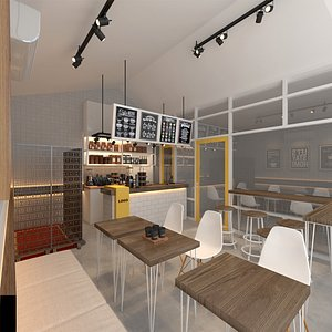 Coffee shop 2 model