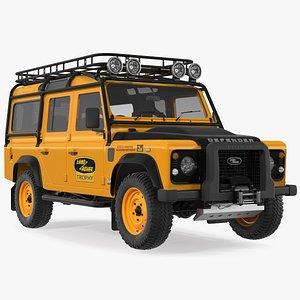 3D Land Rover Defender Works V8 Trophy Clean