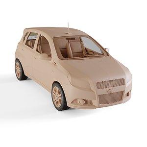 chevrolet aveo 2009 3D