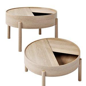 arc coffee table 3D model
