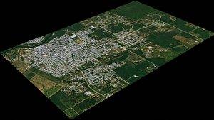 3D San Ignacio - Belize model