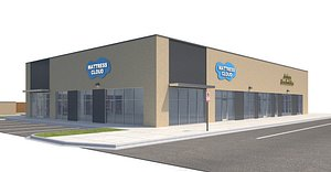 3D Retail-147 Retail Store