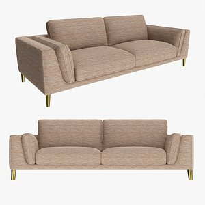 sleeper style sofa 3D