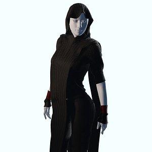3D Cyberpunk Fashion model
