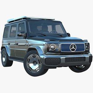 Mercedes-Benz EQG Concept 2022 with Interior 3D 3D model