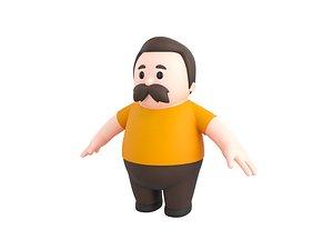 3D Character102 Man