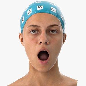 penelope human head mouth 3D