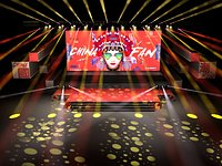 Stage Concert Stage Design Large-scale stage choreographer for the New Year TV Music Festival and th