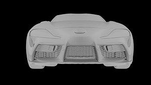 3D Toyota Supra 2019 3d Model Car