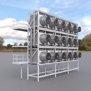 Direct Air Capture System model