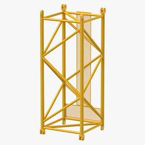 crane l intermediate section model