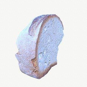 slice bread modeled 3D
