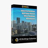 45 Building Models Kit Collection