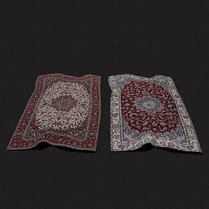 Persian Carpet Design Two and Three 3D
