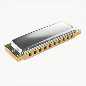 3D Diatonic harmonica