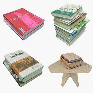 3D model Book Collection 05