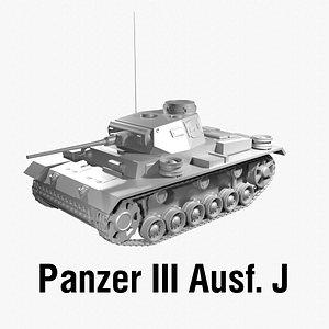 Panzer III 3D