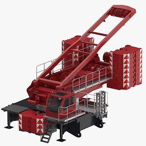 3D crane lr 1600 base