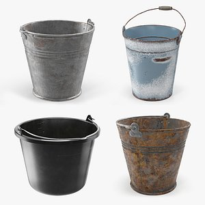 3D Buckets Collection 2