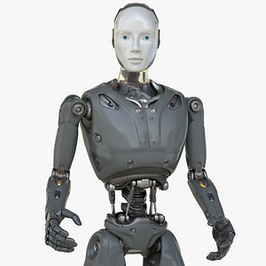 Cyber Robot Android 3D