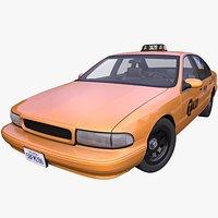 Generic 1990s American Taxi