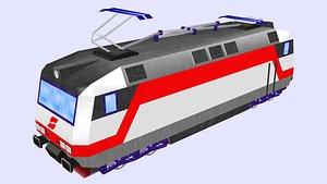 class 1014 electric locomotive 3D model