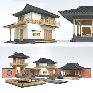 TRADITIONAL PIECES 3D model