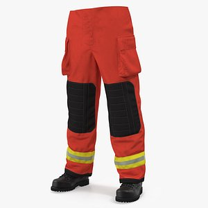 firefighting pants 3D