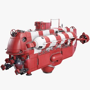 3D model bester submarine rescue