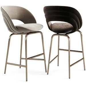 3D furniture chair stool model