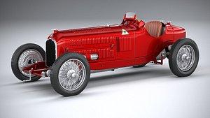 3D Alfa Romeo P3 1932