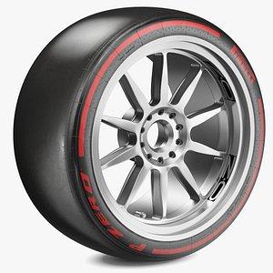 F1 Pirelli 18 Inch Soft Tyre model