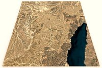 Saudi Arabia topography n29e034abc