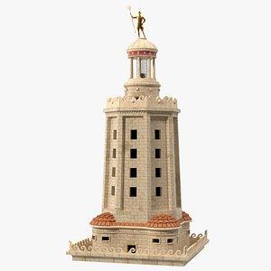 3D model Lighthouse of Alexandria Top