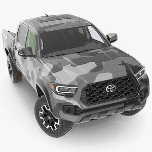 toyota tacoma trd road model