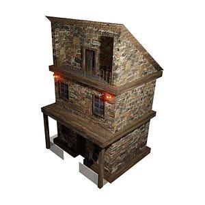 Old House 02 3D model